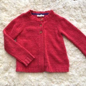Tucker and Tate pink cardigan 3 buttons size 5